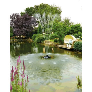 Extra image of Oase Pond Jet Eco Floating Fountain