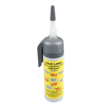 Image of Gold Label One Shot Pond and Aquarum Sealant - Black