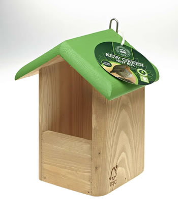 Image of Kew Gardens CJ Wildlife Open Bird Nesting Box