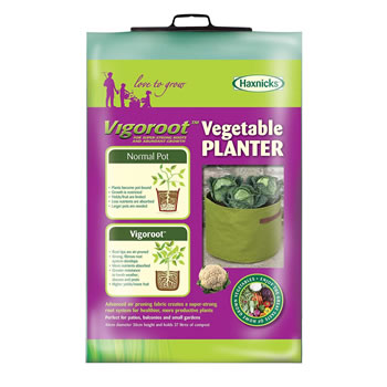 Image of Haxnicks Vigoroot Vegetable Planter Fabric Plant Pot Container Air Pruning