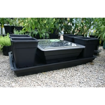 Image of Patio Allotment Planter with Propagator Lid