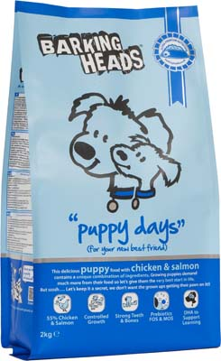 Image of BarkingHeads Puppy Days  2KG