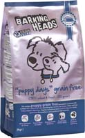 Small Image of Barking Heads Puppy Days GRAIN FREE 2KG made with 50% Salmon and Trout content