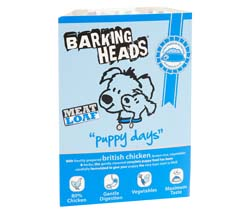 Image of Barking Heads Puppy Days  7 x 150g made with 80% chicken content