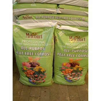 Image of 70L bag of Melcourt RHS Endorsed Peat Free Compost ideal for pots and planting