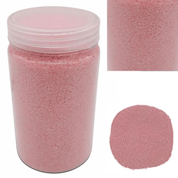 Image of 500g Coloured Pink Decorative Sand Wedding Vase Craft Pot Decoration