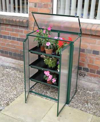 Image of Cold frame Polycarbonate Mini Greenhouse Green
