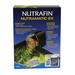 Small Image of Nutrafin NutraMatic 2X Automatic Fish Feeder