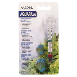 Small Image of Marina Glass Floating Thermometer
