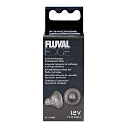 Small Image of Fluval EDGE Shielded Halogen Replacement Bulb 2 x 10w