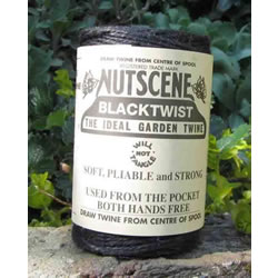 Small Image of 3 Rolls Nutscene Twine Jute String for Home & Garden 120m, black