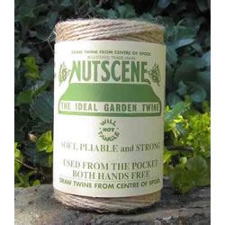 Small Image of 3 Rolls Nutscene Twine Jute String for Home & Garden 120m, natural