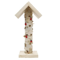 Small Image of Free-standing Wooden Branch Ladybird & Insect Hotel