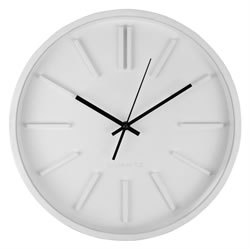 Small Image of 35cm Contemporary White Home Wall Clock