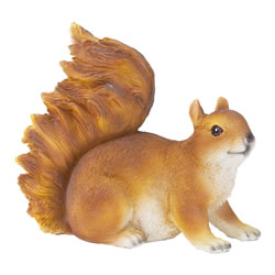 Small Image of Realistic Red Squirrel Garden Animal Ornament
