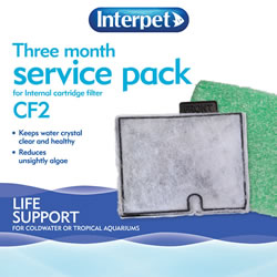 Small Image of Interpet CF2 Three Month Service Pack