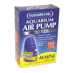 Small Image of Interpet AirVolution AV Mini Aquarium Air Pump