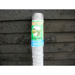 Small Image of 25m roll of 1.2m (4ft) tall chicken wire mesh - 50mm