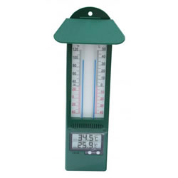 Small Image of Digital Max/Min thermometer green