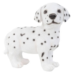 Small Image of Realistic 16cm Standing Dalmatian Puppy Dog Statue Ornament