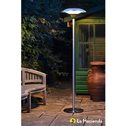 Small Image of La Hacienda Standing 2100w Halogen Patio Heater