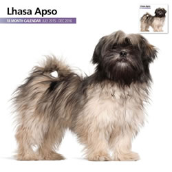 Small Image of Lhasa Apso - 2016 18 Month Calendar