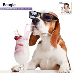 Small Image of Beagle - 2016 18 Month Calendar