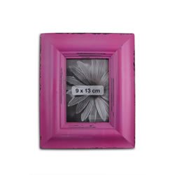 Small Image of Antique Pink Finish Wooden Photoframe for 5 x 3.5in Photo
