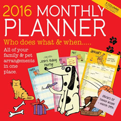 Small Image of 2016 Monthly Planner
