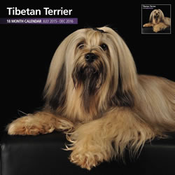 Small Image of Tibetan Terrier - 2016 18 Month Traditional Calendar