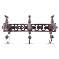 Small Image of Decorative Tap Design Cast Iron Coat Hook Accessory