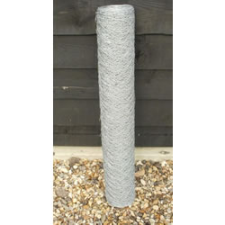 Small Image of 50m x 0.9m (3ft) - Galvanised Chicken Wire Mesh - 50mm