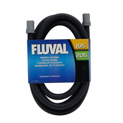 Small Image of Fluval 105/106/205/206 Filter Ribbed Hosing