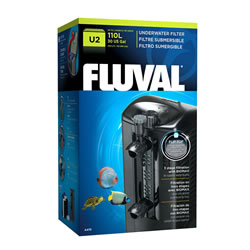 Small Image of Fluval U2 Underwater Filter 400LPH