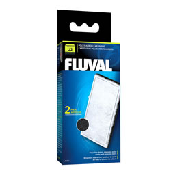 Small Image of Fluval U2 Poly/Carbon Cartridge (2pcs)