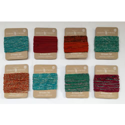 Small Image of Nutley's Pack of 8 10m Recycled Sari Twine Fairtrade Colourful Bright