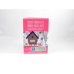 Small Image of Apples to Pears Springwatch Best Friend's Bird Box Kit Gift Blue Tits, Sparrows, Robins