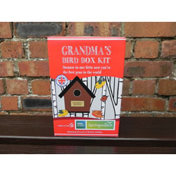 Small Image of Apples to Pears Springwatch Grandma's Bird Box Kit Gift