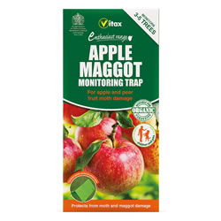 Small Image of Vitax Apple Maggot Monitoring Trap Protects Against Apple Moths