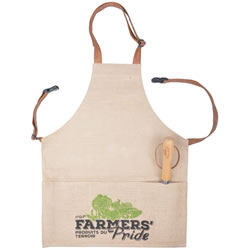 Small Image of Fallen Fruits Hessian Garden Tool Apron
