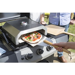 Small Image of La Hacienda Firebox BBQ Pizza Oven