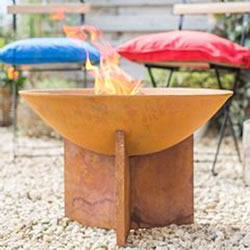 Small Image of La Hacienda Kala Cast Iron Firepit - 56cm Diameter