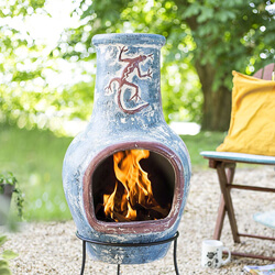 Image for Large Clay Chimenea