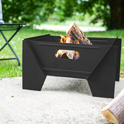 Small Image of Buckland Black Fire Pit by Oxford Barbecues