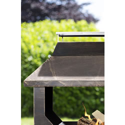Extra image of La Hacienda Stonehurst Steel Outdoor  Fireplace
