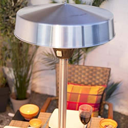 Extra image of La Hacienda Silver Series Table Top Halogen Heater
