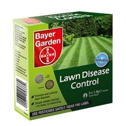 Small Image of Bayer Lawn Disease Control Soluble Sachets (treats 60sqm) (79476019)