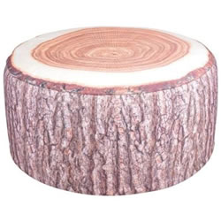 Small Image of Fallen Fruits Outdoor Tree Trunk Pouffe (BK014)
