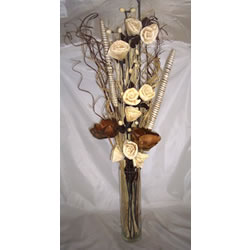 Small Image of Natural & Cream bouquet