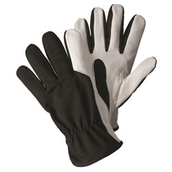 Small Image of Briers Super Soft & Strong Black Leather Gardening Gloves Outdoors